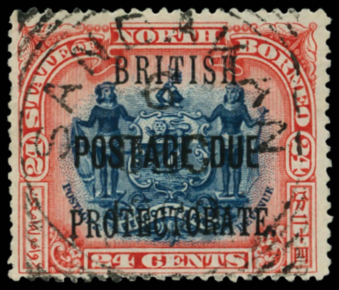 NORTH BORNEO 1902-12  SGD49a Postage Due