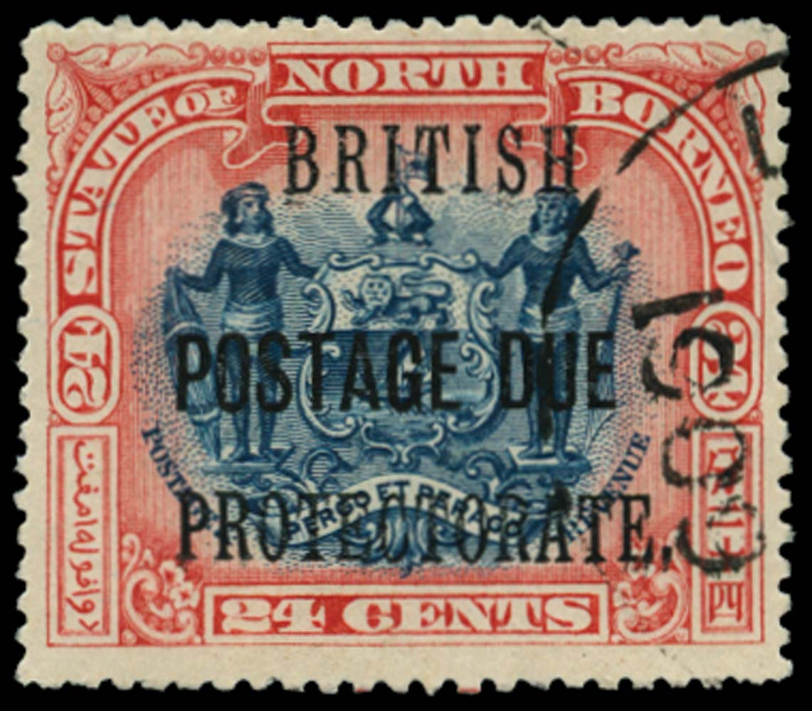 NORTH BORNEO 1902-12  SGD49a Postage Due