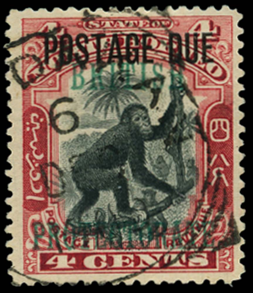 NORTH BORNEO 1902-12  SGD51 Postage Due