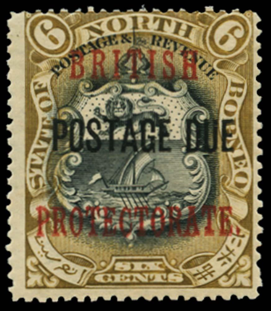 NORTH BORNEO 1902-12  SGD42d Postage Due