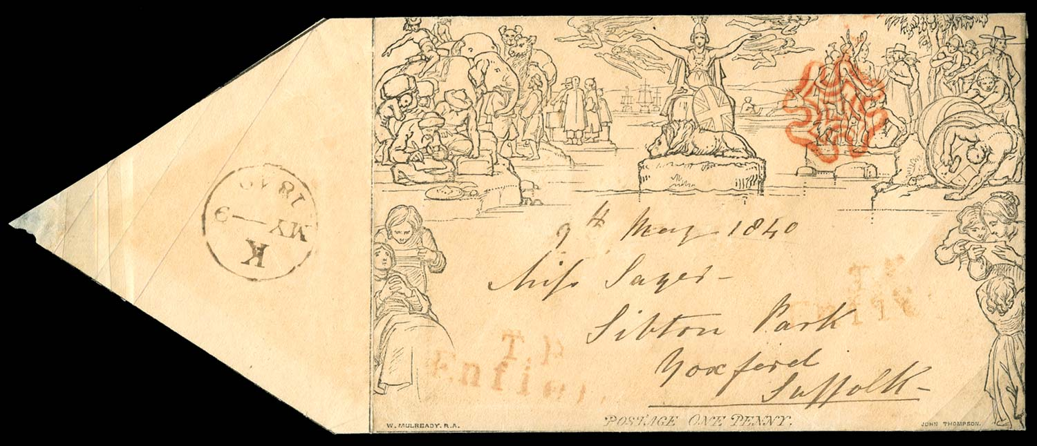 GB 1840  SGME2 Cover used on May 9th