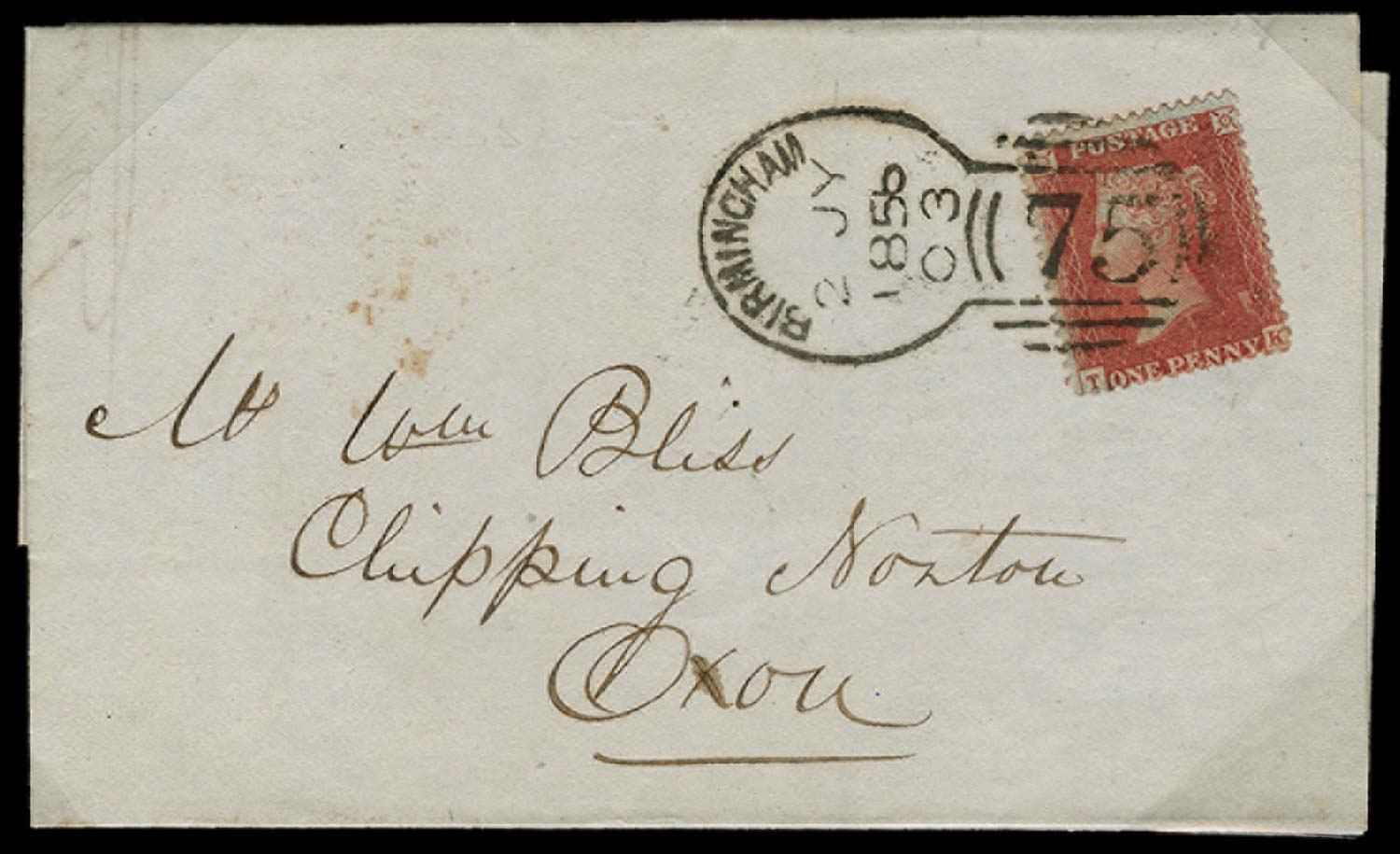 GB 1855  SG30 Pl.34 Cover