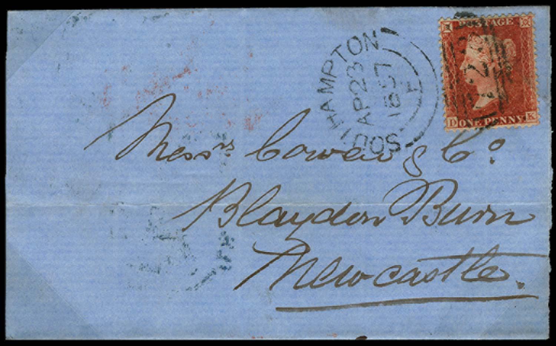 GB 1855  SG29 Pl.34 Cover