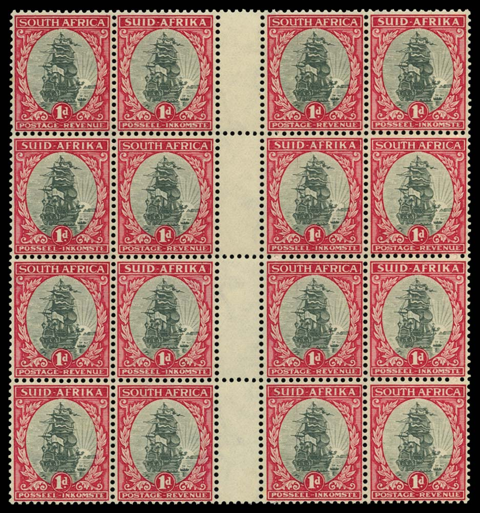 SOUTH AFRICA 1933-48  SG56dw Mint