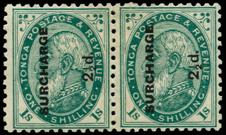 TONGA 1894  SG24b/ba Mint