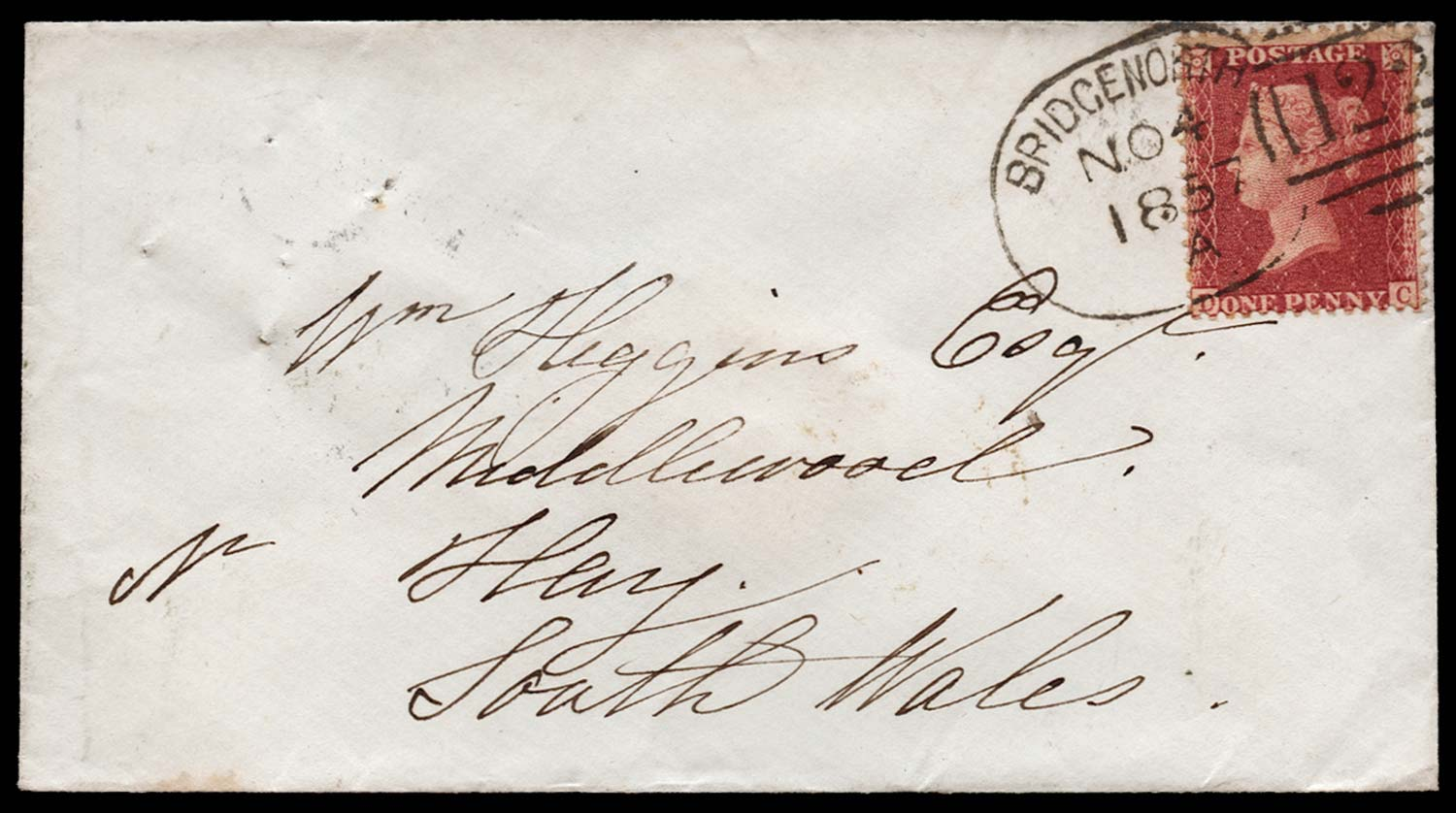 GB 1857  SG40 Pl.34 Cover