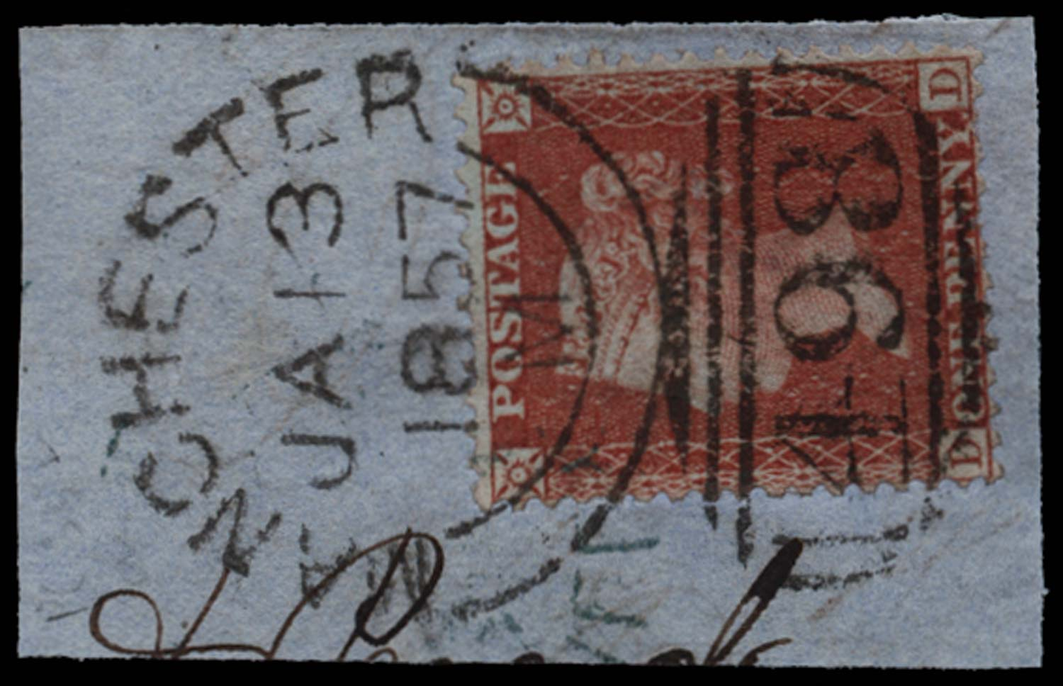 GB 1855  SG29 Pl.35 Used