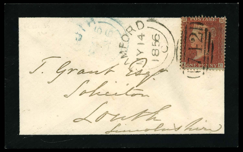 GB 1855  SG29 Pl.35 Cover