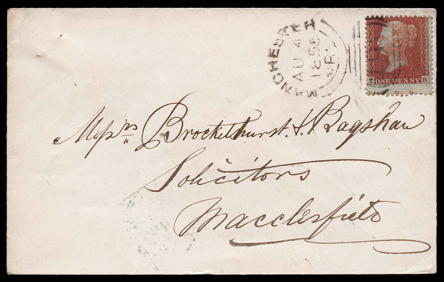 GB 1855  SG24 Pl.2 Cover