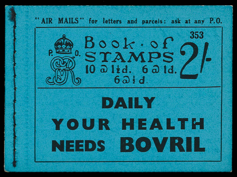 GB 1935  SGBB17 Booklet (Edition 353)