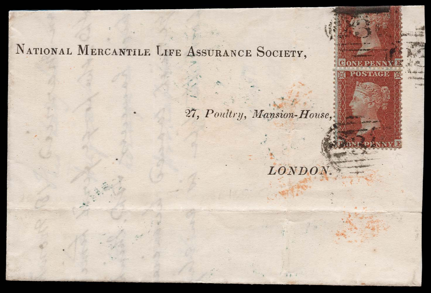 GB 1855  SG21 Pl.3 Cover