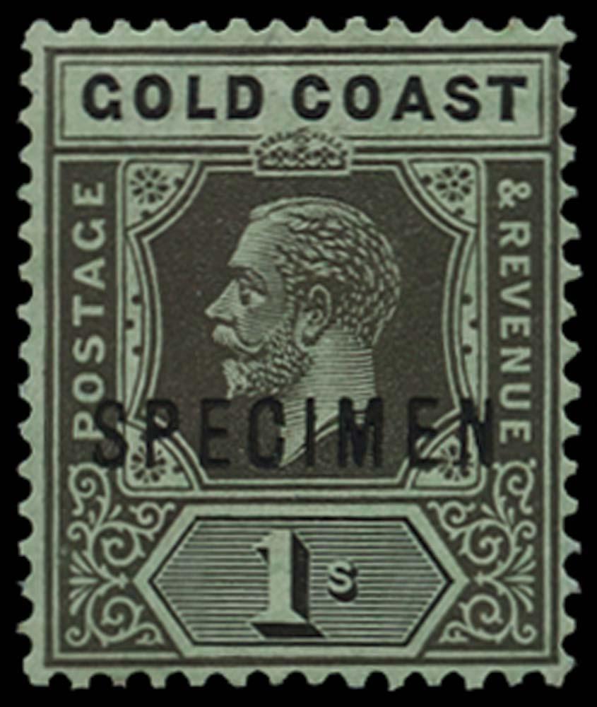 GOLD COAST 1913-21  SG79es Specimen