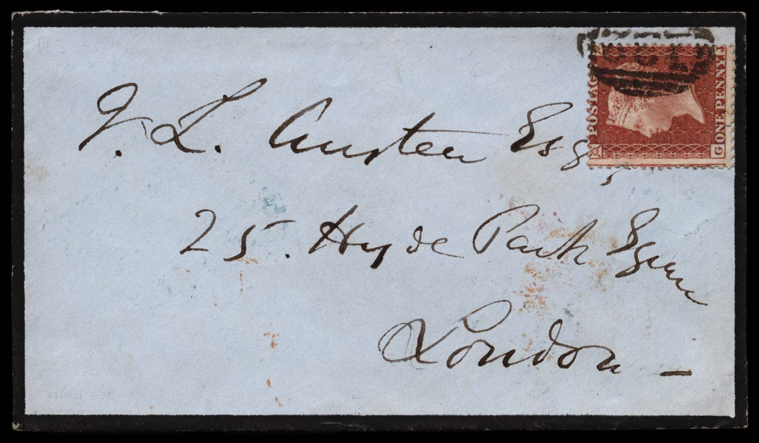 GB 1855  SG24 Pl.3 Cover