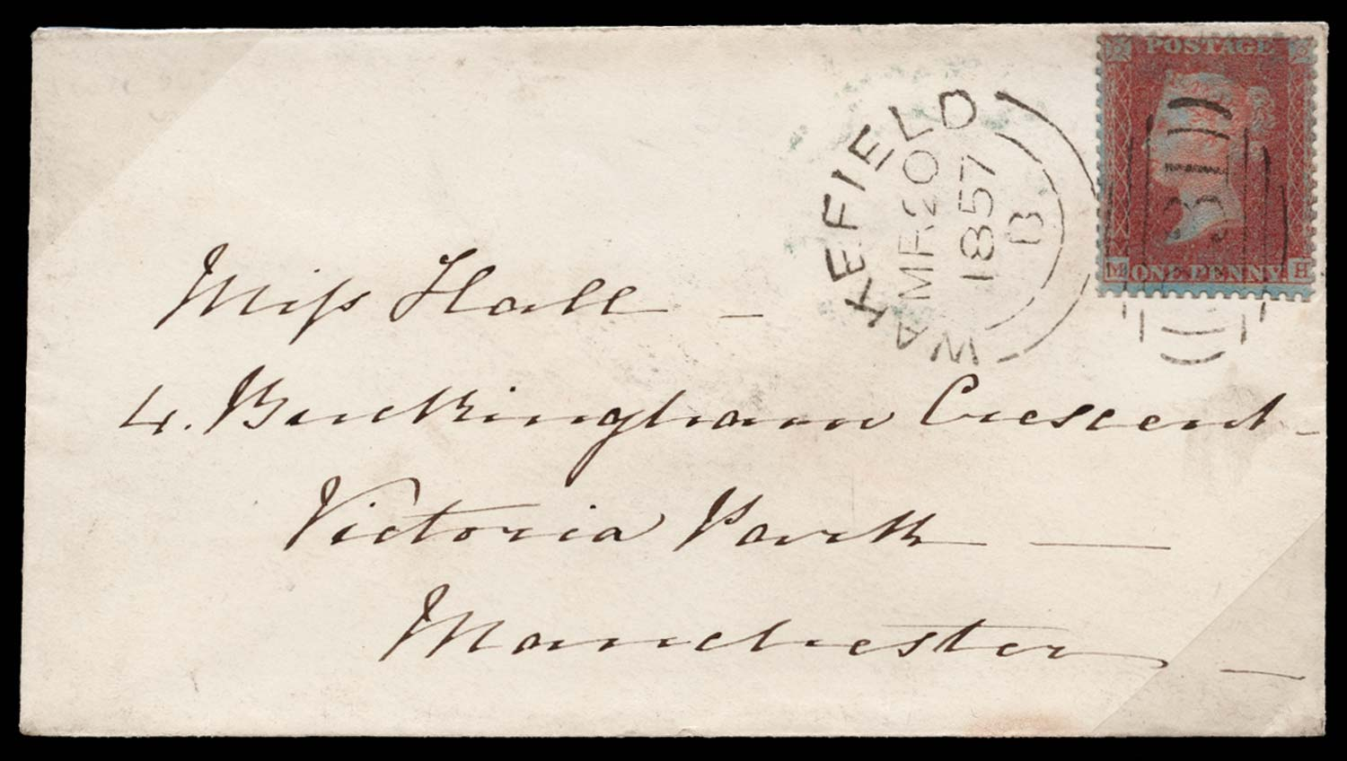 GB 1855  SG32 Pl.36 Cover