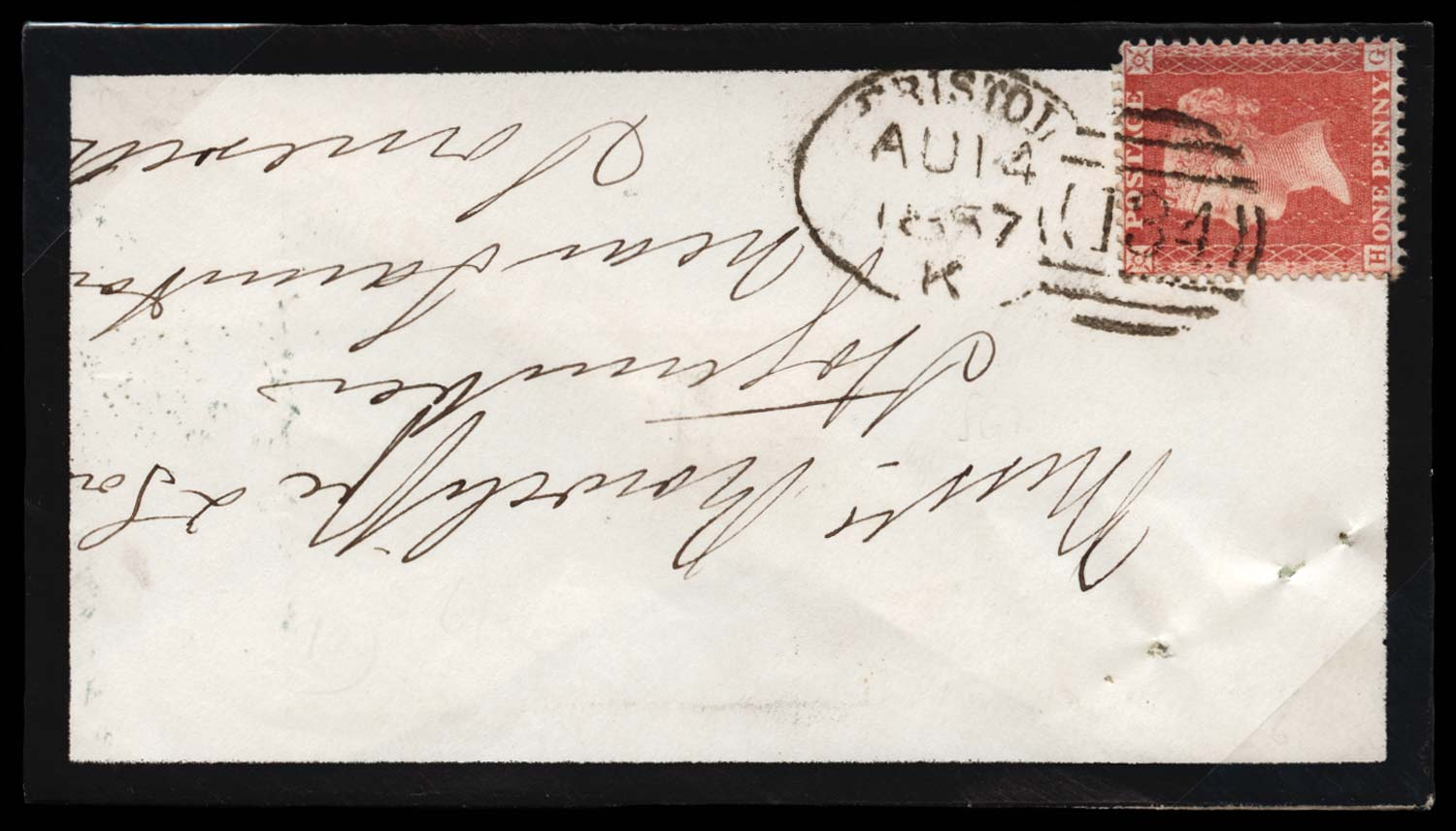 GB 1857  SG38 Pl.36 Cover