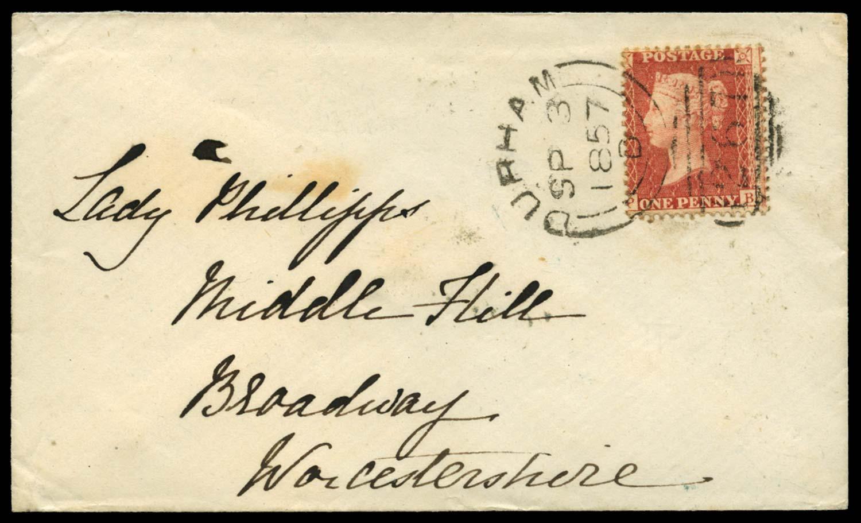 GB 1857  SG38 Pl.36 Cover