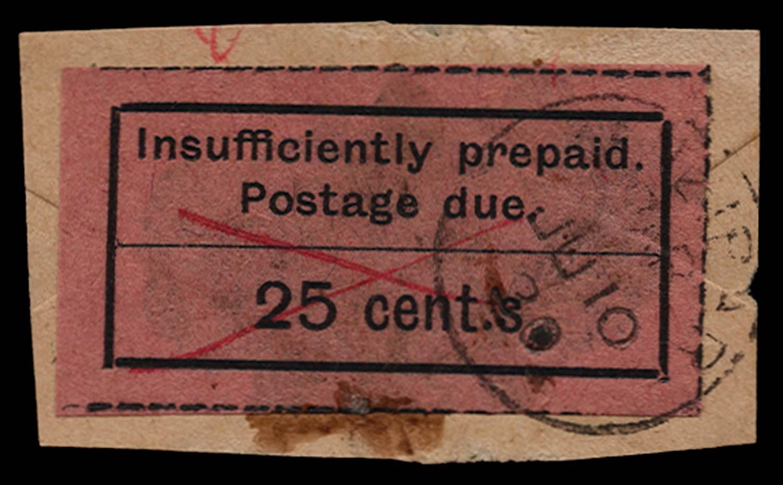 ZANZIBAR 1926-30  SGD13a Postage Due