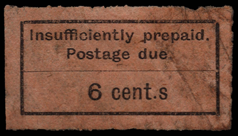 ZANZIBAR 1926-30  SGD4a Postage Due