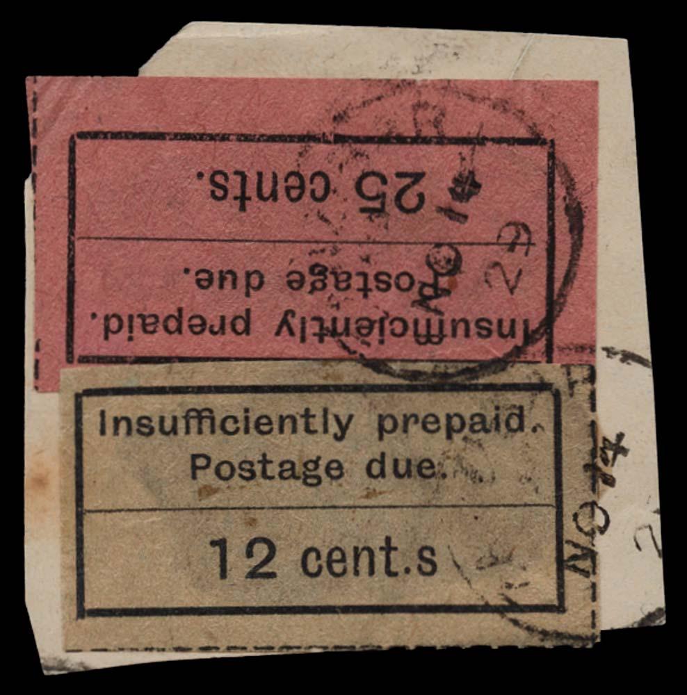 ZANZIBAR 1926-30  SGD7a, 13 Postage Due