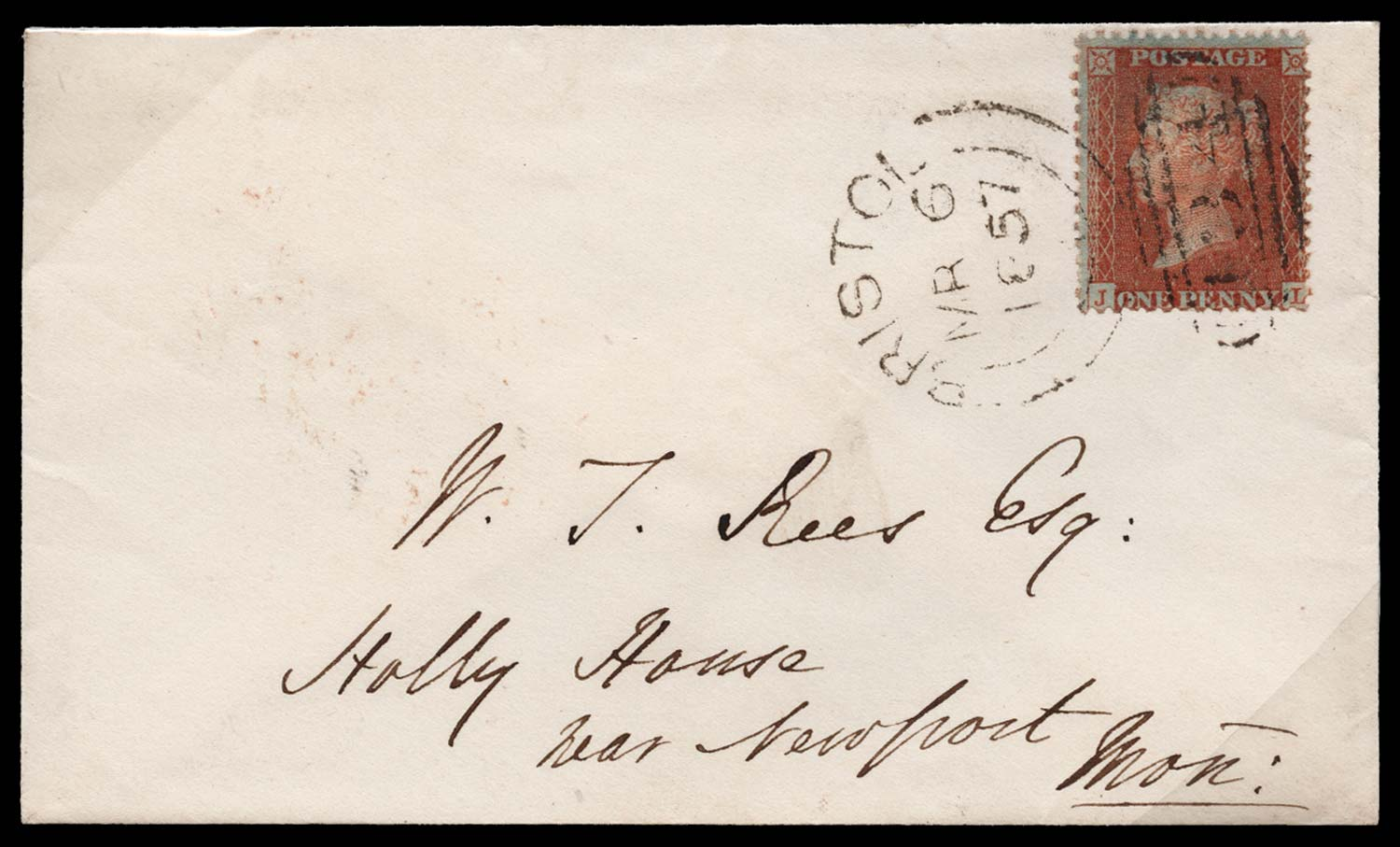 GB 1857  SG33 Pl.37 Cover
