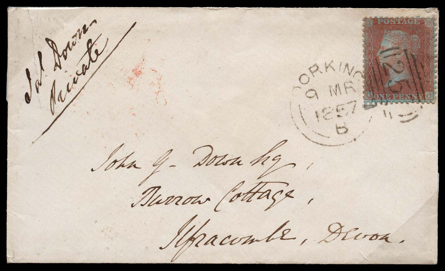 GB 1855  SG32 Pl.37 Cover