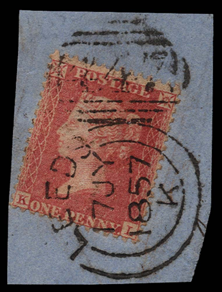 GB 1857  SG38var Pl.37 Used