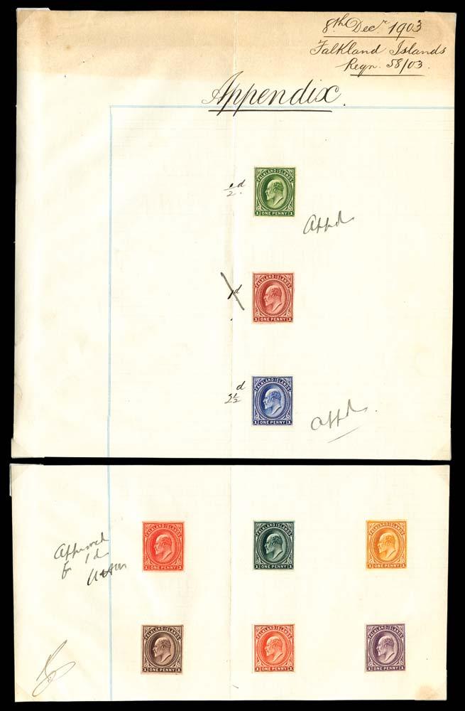 GRENADA 1937  SG149s/51s Specimen