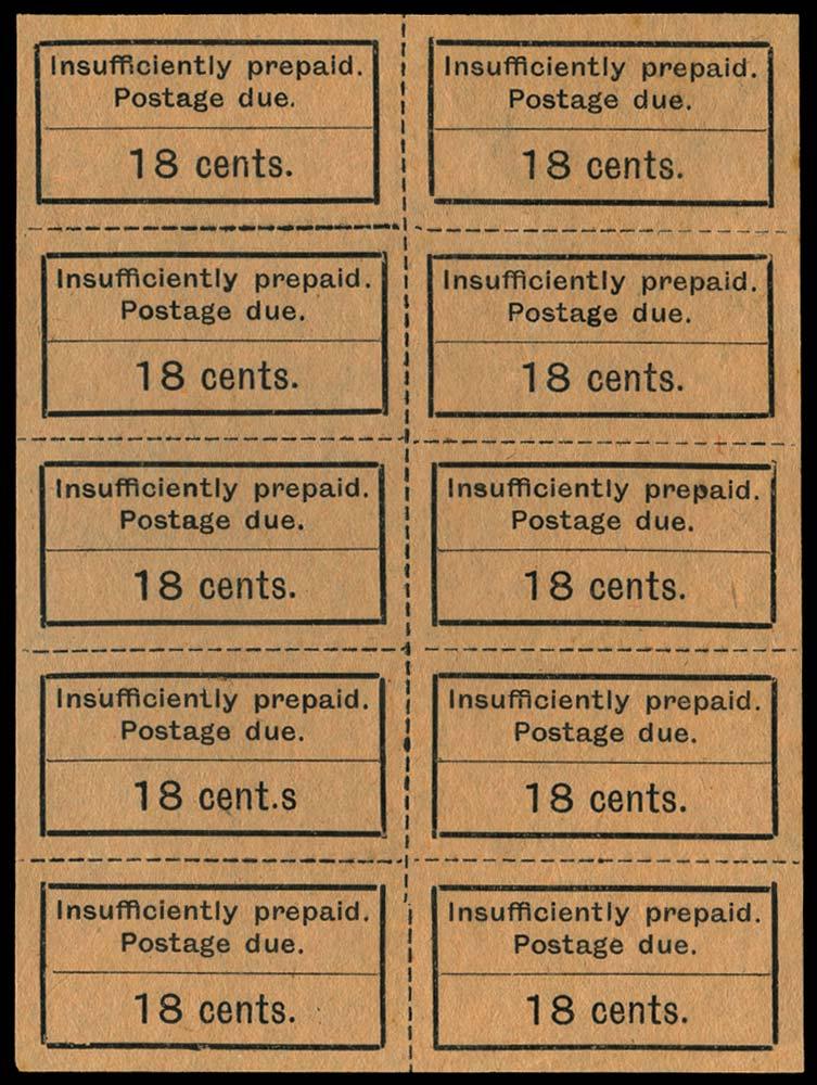 ZANZIBAR 1926-30  SGD9/a Postage Due