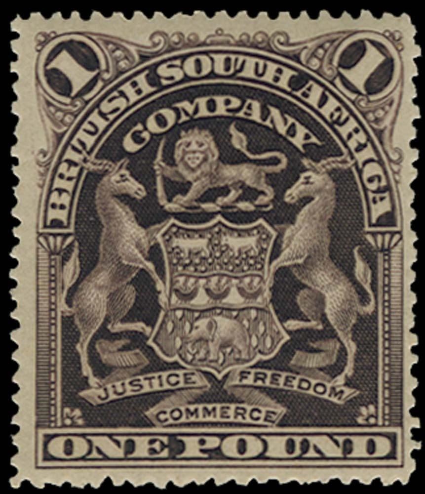 RHODESIA 1898  SG90 Mint