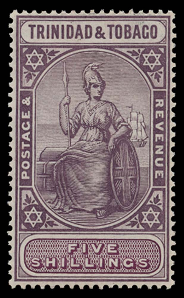 TRINIDAD & TOBAGO 1913  SG155 Mint