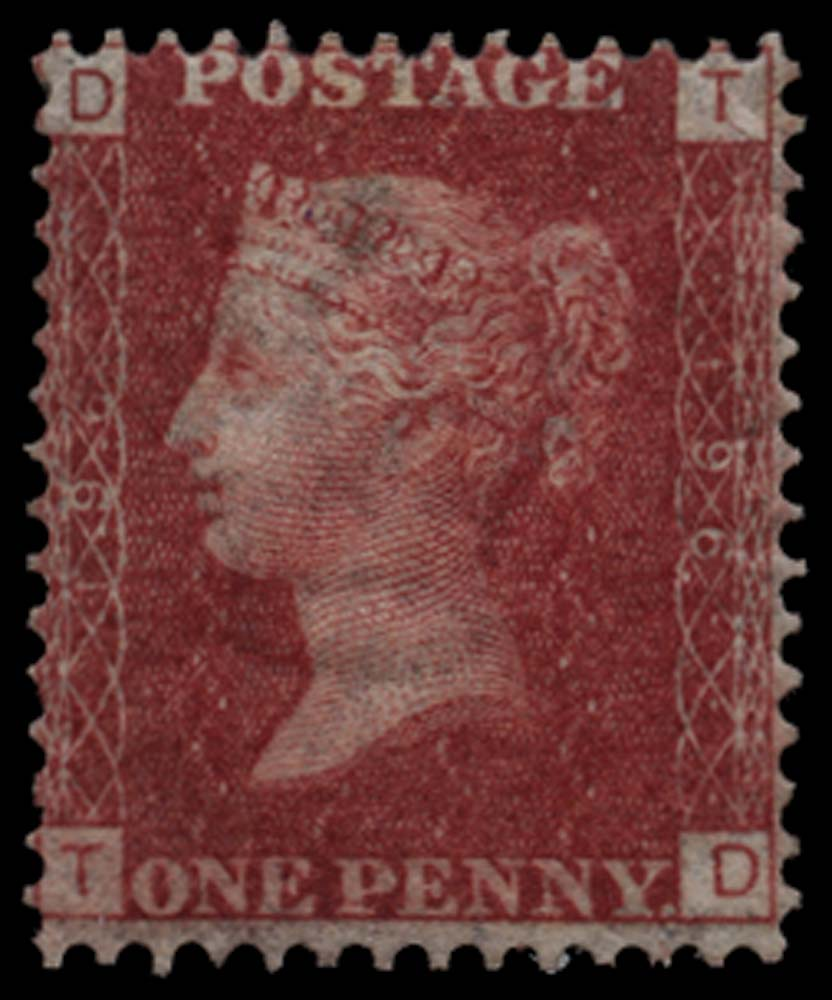 GB 1877  SG43 Pl.196 Mint m/m