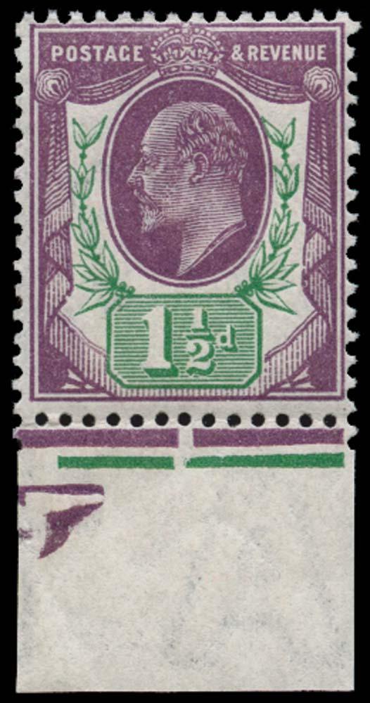 GB 1912  SG289 Mint