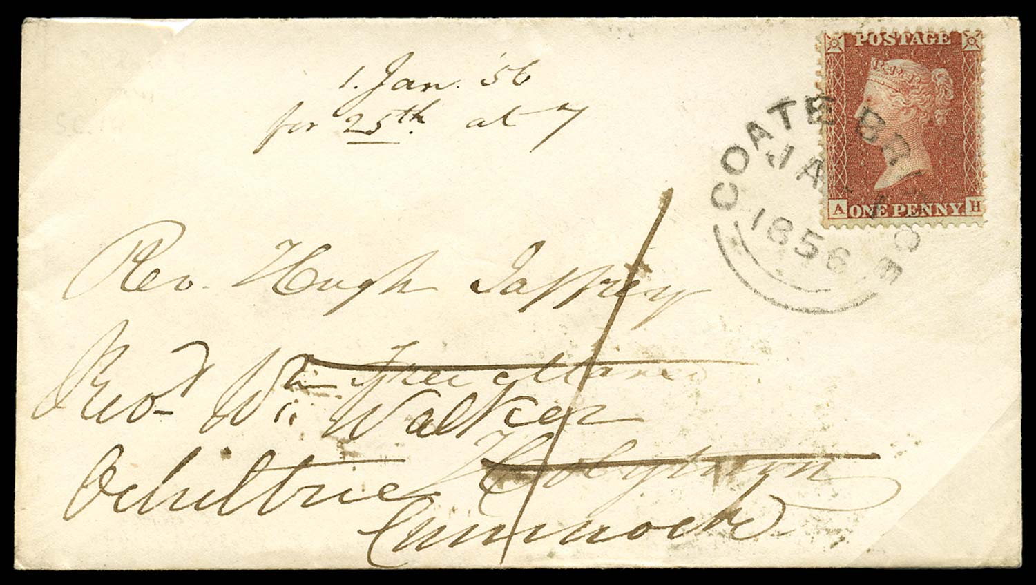 GB 1855  SG24 Pl.9 Cover