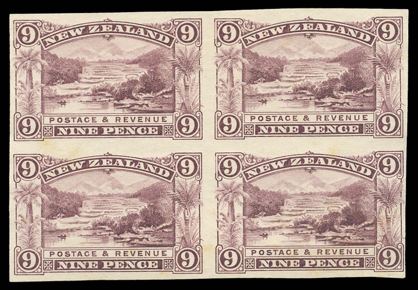 GB 1971  SG894a Mint imperf (pair)