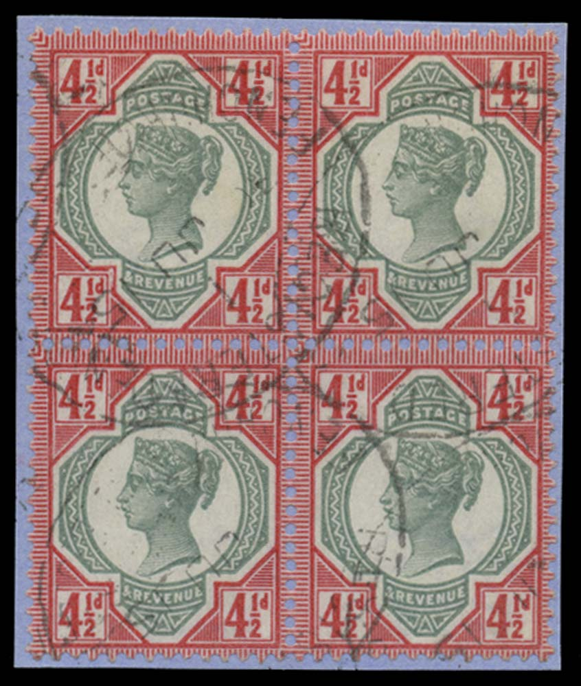 GB 1982  SG1196a Mint imperf (pair)
