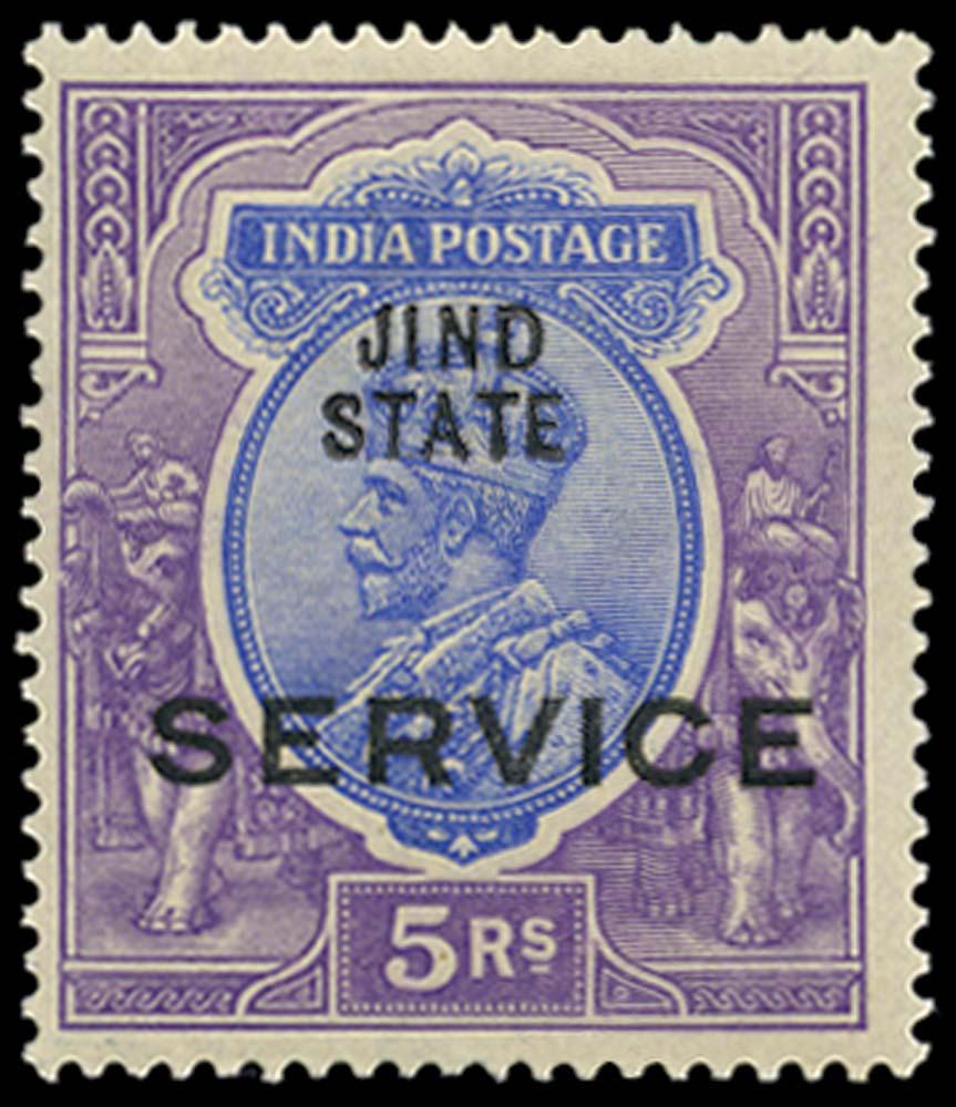 I.C.S. JIND 1914-27  SGO45 Official