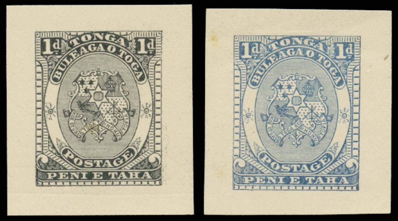 TONGA 1892  SG10 Proof