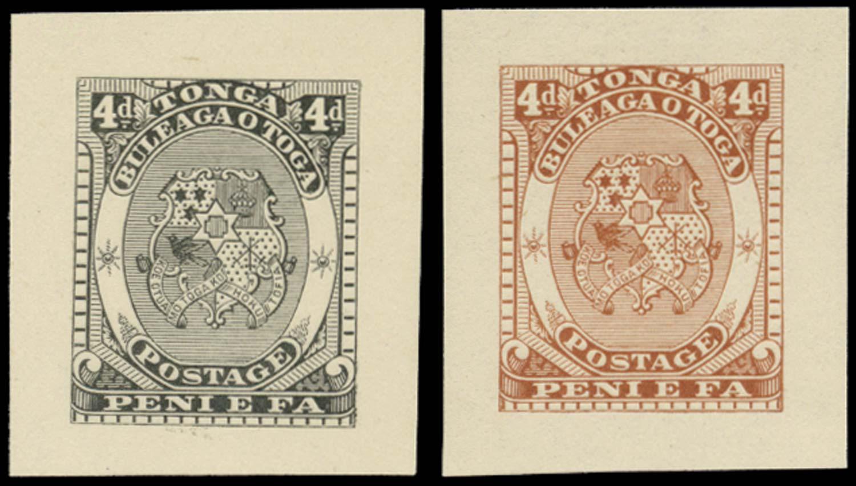 TONGA 1892  SG12 Proof