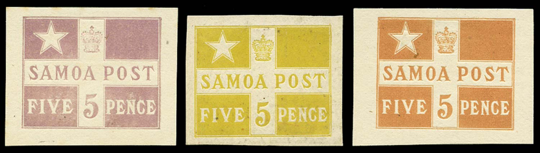 SAMOA 1894  SG71 Proof