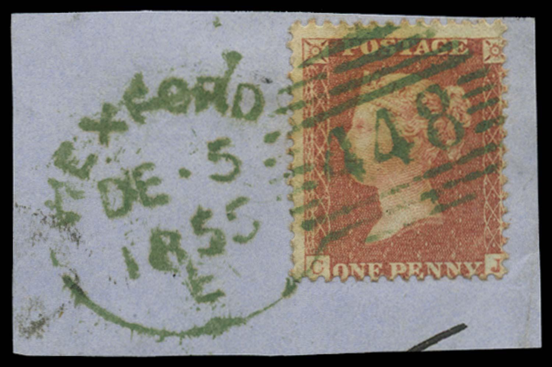 GB 1855  SG29var Pl.11 Used
