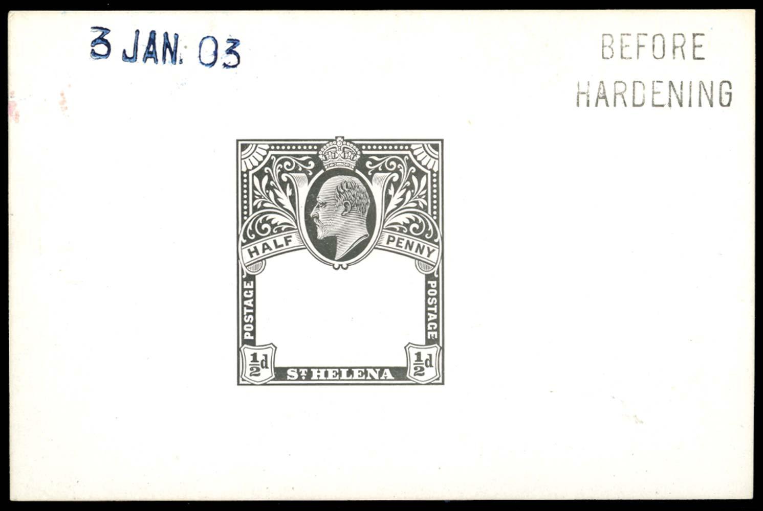 ST HELENA 1903  SG55 Proof
