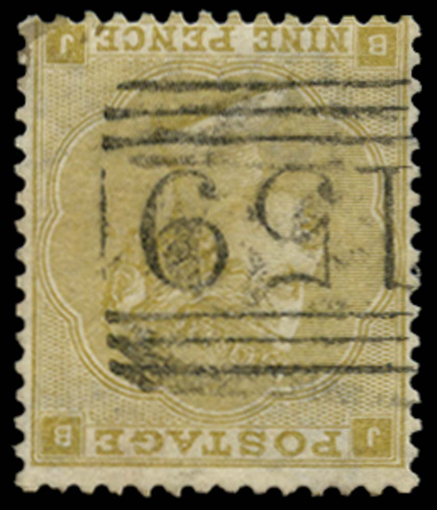 GB 1862  SG87wi Pl.2 Used