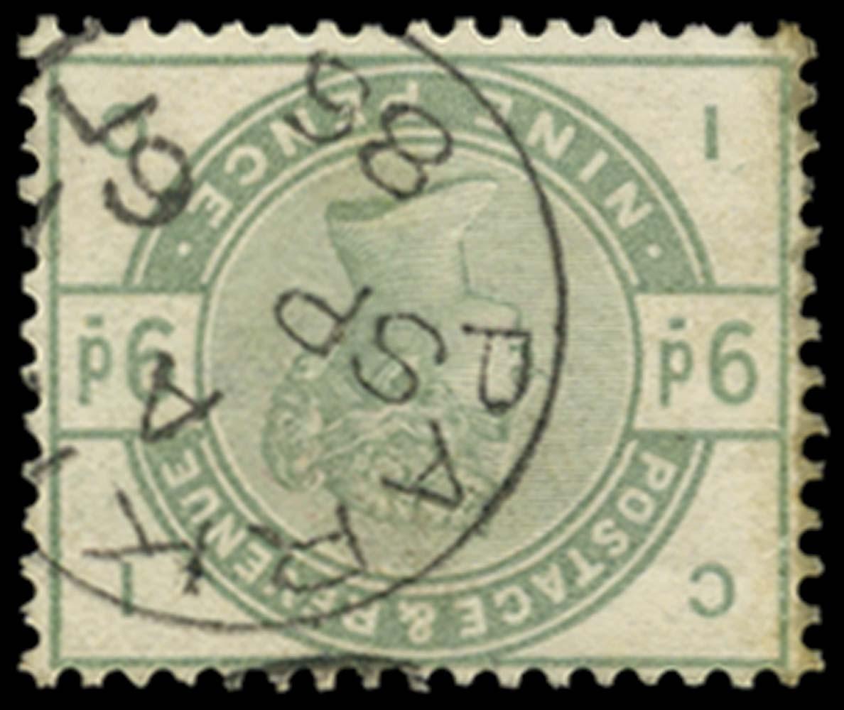 GB 1883  SG195wi Used