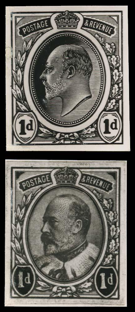 GB 1901  SG219var Proof