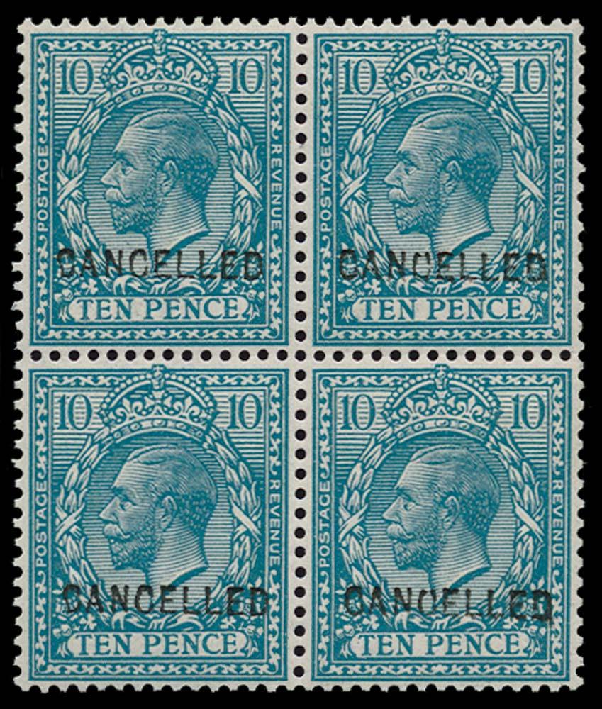 GB 1912  SG394var Mint