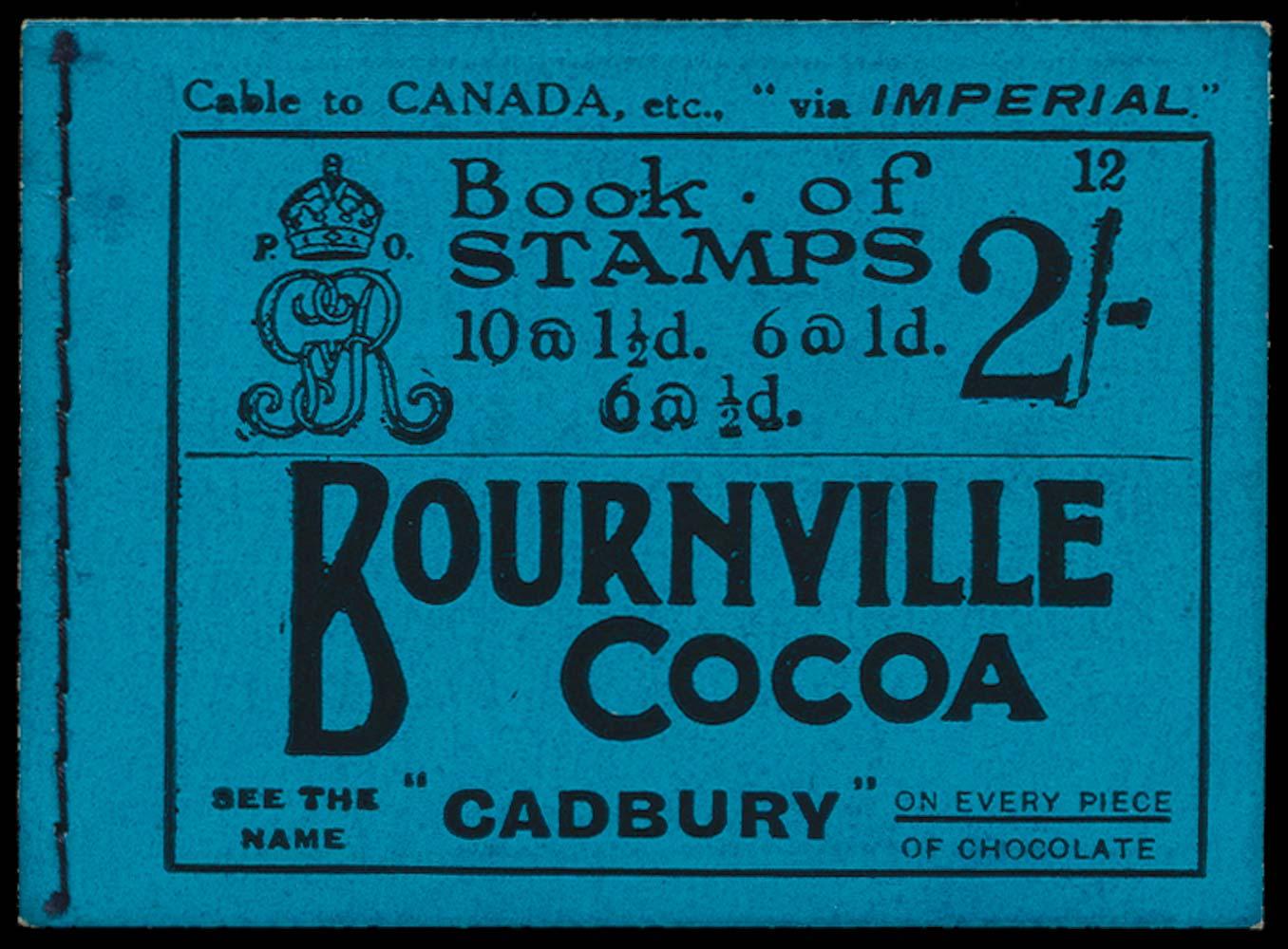 GB 1924  SGBB12 Booklet (Edition 12)