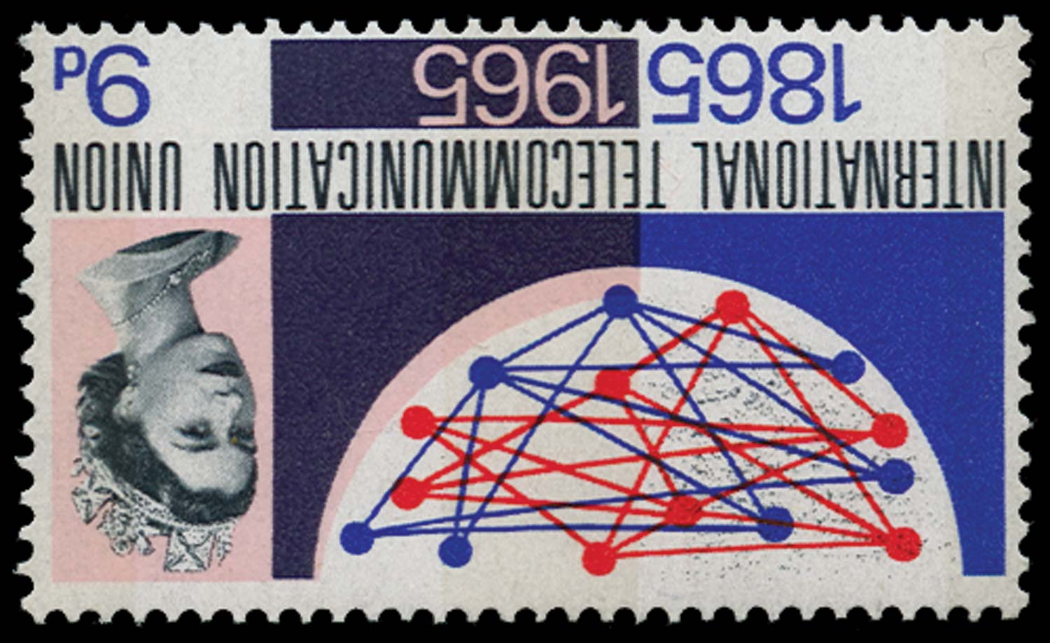 GB 1965  SG683pwi Mint watermark inverted