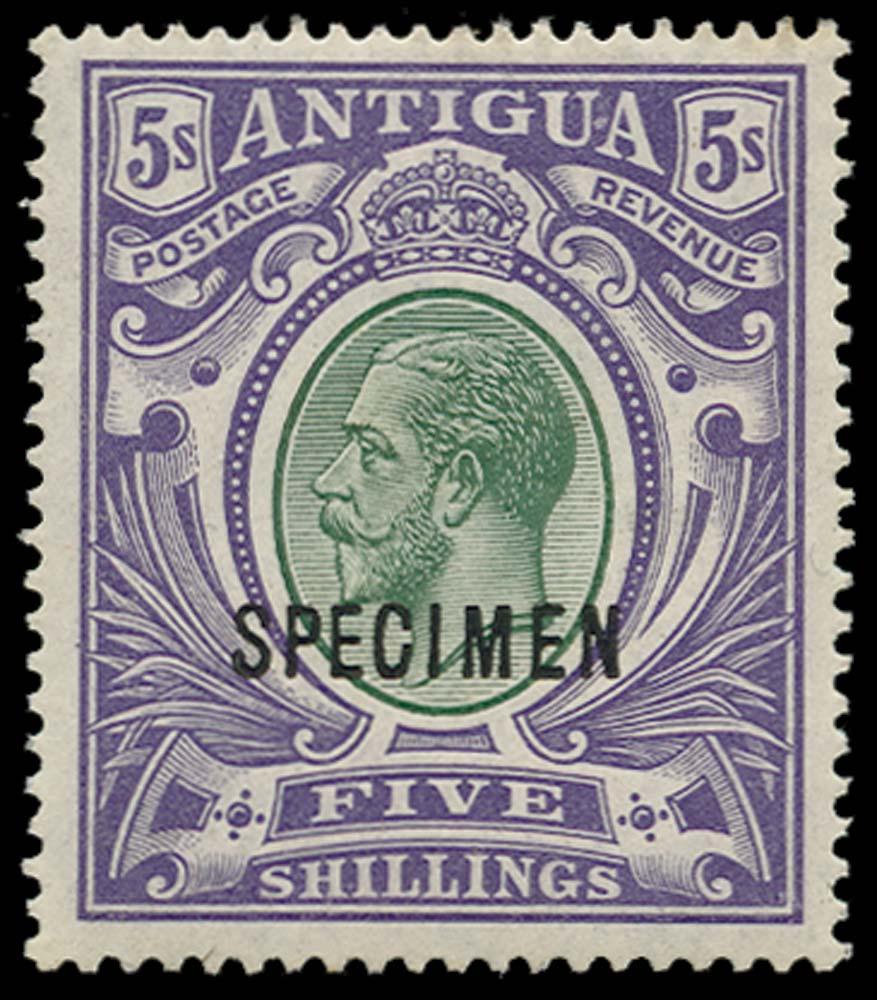 ANTIGUA 1913  SG51s Specimen