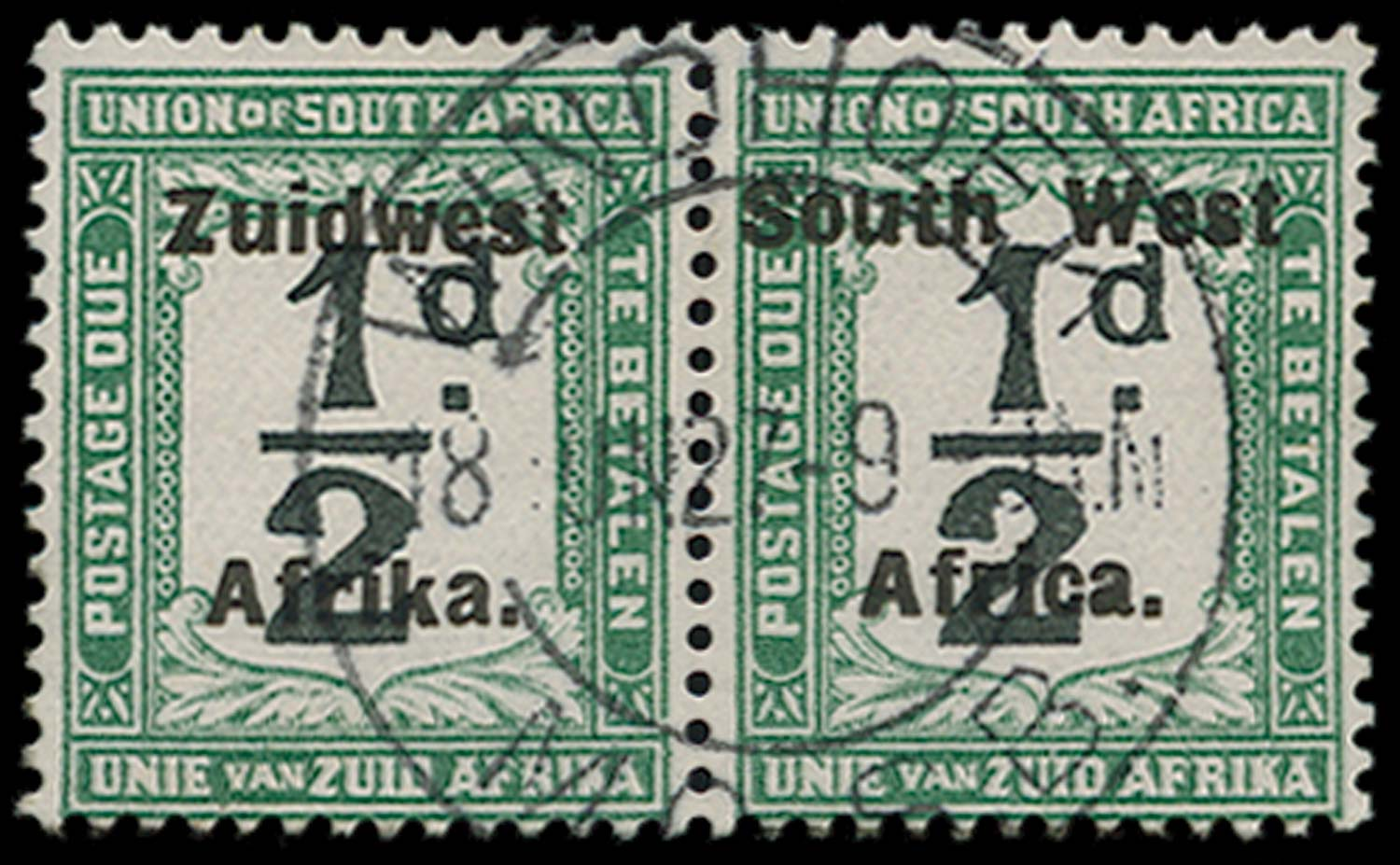SOUTH WEST AFRICA 1923-26  SGD27