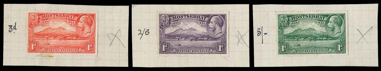 MONTSERRAT 1932  SG85 Proof